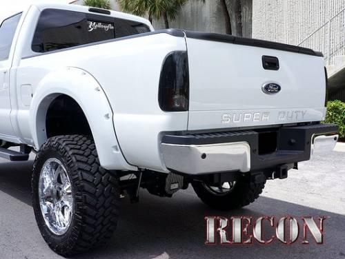Recon Truck Accessories - 264181CH | Super Duty Raised Letter Inserts - Chrome - Image 6