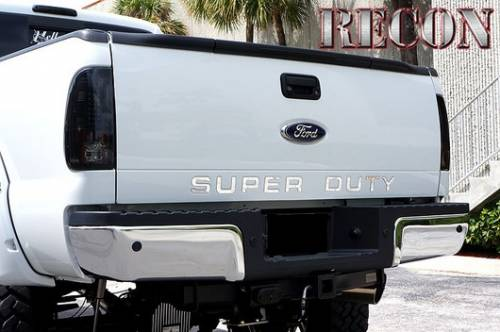 Recon Truck Accessories - 264181CH | Super Duty Raised Letter Inserts - Chrome - Image 7