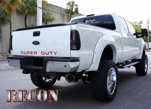 Recon Truck Accessories - 264181RD | Super Duty Raised Letter Inserts - Red - Image 5