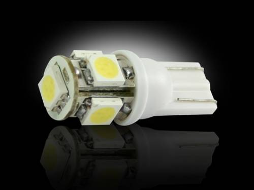 Lighting - Replacement Bulbs - Recon Truck Accessories - 264201WH | High Power 360 Degree White LED 194 / 168 T10