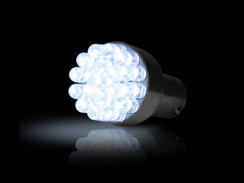 Lighting - Replacement Bulbs - Recon Truck Accessories - 1157 (19 LEDs on each bulb) Unidirectional LED Bulb - White