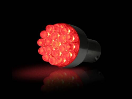 Recon Truck Accessories - 1156 (19 LEDs on each bulb) Unidirectional LED Bulb - Red