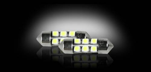 Interior - Interior Lights - Recon Truck Accessories - 264212WH | High Power 1 Watt 3175 (6 LED) White LED