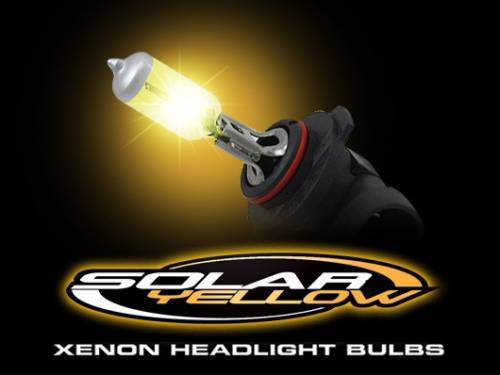 Lighting - Replacement Bulbs - Recon Truck Accessories - H1 12V 55W (2,600 Kelvin) Head Light / Fog Light Bulbs in Solar Yellow