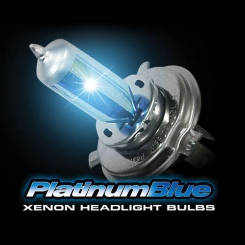 Lighting - Replacement Bulbs - Recon Truck Accessories - H3 12V 55W (5,600 Kelvin) Headlight Bulbs in Platinum Blue