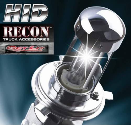 Lighting - HID Kits - Recon Truck Accessories - 264H4HID | H4 9003 Single Beam HID with 6,000 Kelvin Bulb