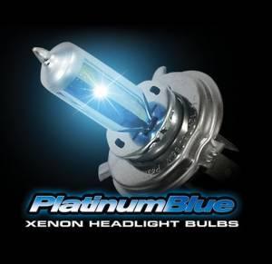 Lighting - Replacement Bulbs - Recon Truck Accessories - H4 9003 12V 60/55W (5,600 Kelvin) Headlight Bulbs in Platinum Blue