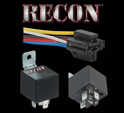 Lighting - Cab Roof Lights - Recon Truck Accessories - 12VDC 5-PIN Heavy Duty Relay by RECON