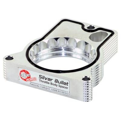 AFE Power Clearance Center - 46-34005 || Silver Bullet Throttle Body Spacer - Image 1