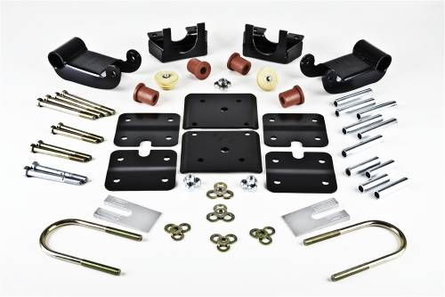Suspension Components - Flip Kits, C-Notches - Belltech Suspension - 6302 | GM Rear Flip Kit with Factory Steel Leaf