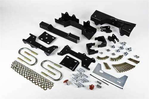 Suspension Components - Flip Kits, C-Notches - Belltech Suspension - 6612 | 6 Inch GM Rear Flip Kit with 5 Inch Frame