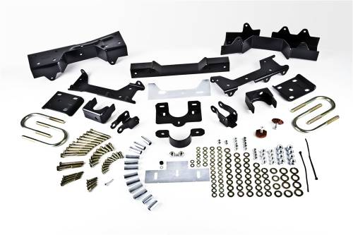 Suspension Components - Flip Kits, C-Notches - Belltech Suspension - 6614 | 6 Inch GM Rear Flip Kit with 5 Inch Frame