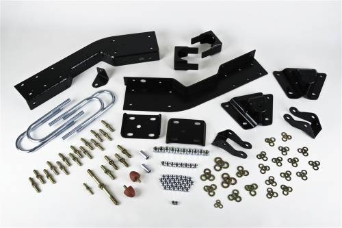 Suspension Components - Flip Kits, C-Notches - Belltech Suspension - 6620 | 7 Inch GM Rear Flip Kit