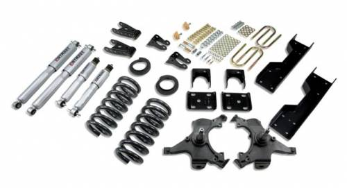 Suspension Components - Accessories - Belltech Suspension - LOWERING KIT - WITH SP SHOCKS