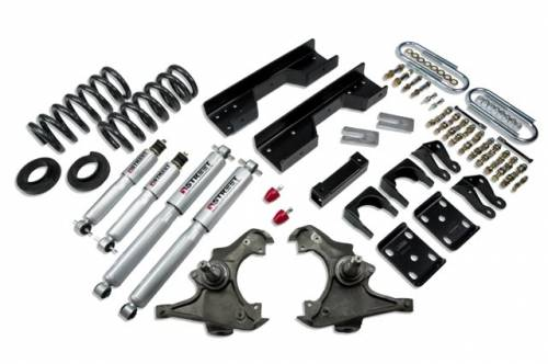 Suspension Components - Accessories - Belltech Suspension - 722SP | Complete 4-5/8 Lowering Kit with Street Performance Shocks