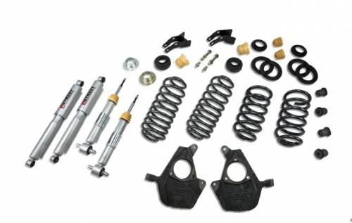 Suspension Components - Accessories - Belltech Suspension - 733SP | Complete 3-4/3-4 Lowering Kit with Street Performance Shocks
