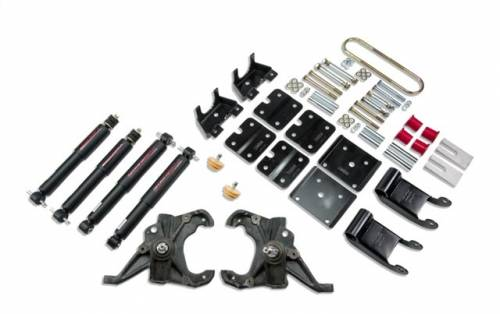 Suspension Components - Accessories - Belltech Suspension - LOWERING KIT - WITH ND2 SHOCKS