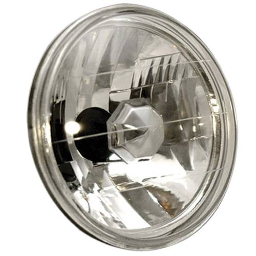 "Lighting - Headlights - Anzo USA - 841002 | Universal Headlight H4 7"" Round Halogen"