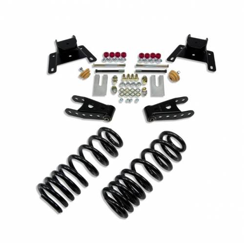 Suspension Components - Accessories - Belltech Suspension - 924 | Ford 2/4 Inch Lowering Kit Without Shocks