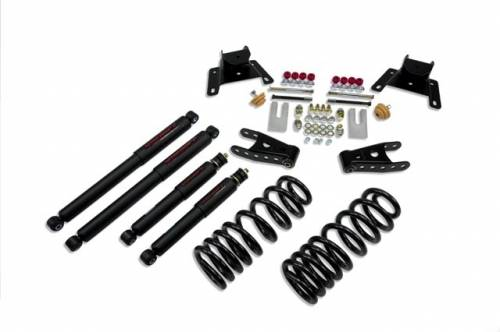 Suspension Components - Accessories - Belltech Suspension - 924ND | Ford 2/4 Inch Lowering Kit With Nitro Drop Shocks