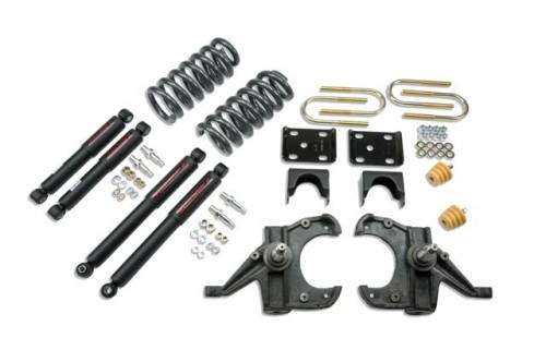 Suspension Components - Accessories - Belltech Suspension - 953ND | Complete 4/6 Lowering Kit with Nitro Drop Shocks