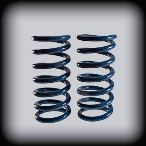Suspension Components - Front Coil Springs - DJM Suspension - 1 Inch Lowering Front Coil Springs