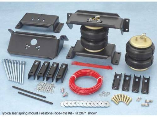 Firestone Industrial Products - FIP2100 | Firestone Ride-Rite Air Spring Kit - Rear