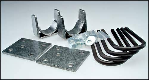 Suspension Components - Flip Kits, C-Notches - DJM Suspension - 5 Inch Rear Leaf Spring Lowering Flip Kit, 2.25 Inch Wide Leafs