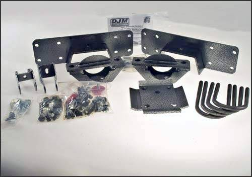 Suspension Components - Flip Kits, C-Notches - DJM Suspension - 1988-1998 Chevrolet, GMC C-1500 Pickup 6 Inch Rear Leaf Spring Axle Flip Kit