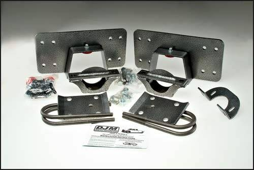 Suspension Components - Flip Kits, C-Notches - DJM Suspension - 8 Inch Rear Leaf Spring Lowering Flip Kit