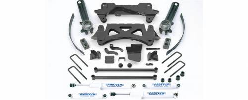 Fabtech Suspension - 1995-2004 Toyota Tacoma 6 Cyl 2/4WD 6 Lug 6 Inch Performance System with Performance Shocks