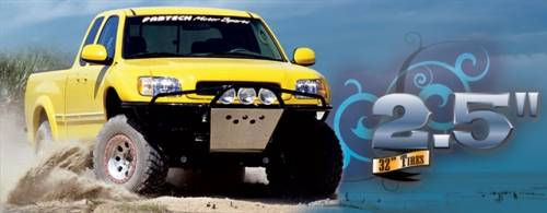 Fabtech Motorsports - 2000-2006 Toyota Tundra 2WD/4WD 0-2.5 Inch Basic Adj Coilovers System with Performance Rear Shocks