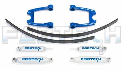 Fabtech Suspension - 1984-1995 Toyota P/U 2WD 3.5 Inch Performance System with Performance Shocks