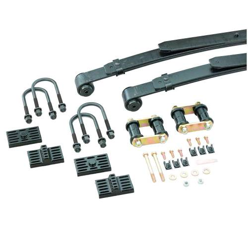 Suspension Components - Rear Leaf Springs - Hotchkis Sport Suspension - 2408C 1970-1981 GM F-Body Sport Leaf Springs