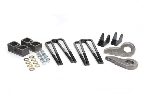Suspension - Suspension Leveling Kits - Daystar Suspension - 2001-2010 Chevrolet Silverado 250/3500, GMC Sierra 2500/3500 2 Inch lift Kit