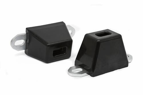 Accessories - Bump Stops - Daystar Suspension - 2-1/4 Inch Tall, 3 Inch Long, 2 Inch Wide with slotted mounting plate Bump Stop
