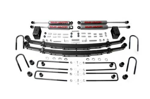 Suspension - Suspension Lift Kits - Rough Country Suspension - 100.20 | 4 Inch GM Suspension Lift Kit