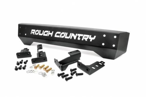 Exterior - Bumpers & Tire Carriers - Rough Country Suspension - Jeep Front Stubby Bumper