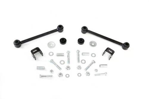 Vehicle Specific Products - Rough Country Suspension - 1022 | Ford Front Sway Bar Links (4 Inch)