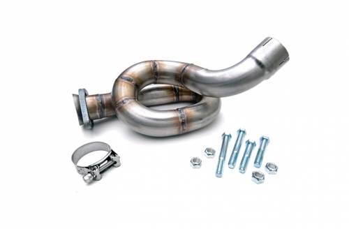 Vehicle Specific Products - Rough Country Suspension - 1041 | Jeep Exhaust Loop Relocation Pipe
