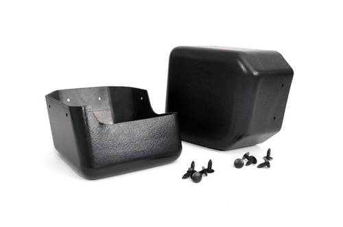 Rough Country Suspension - 1047 | Jeep Front Bumper Caps (07-18 Wrangler JK) - Image 1