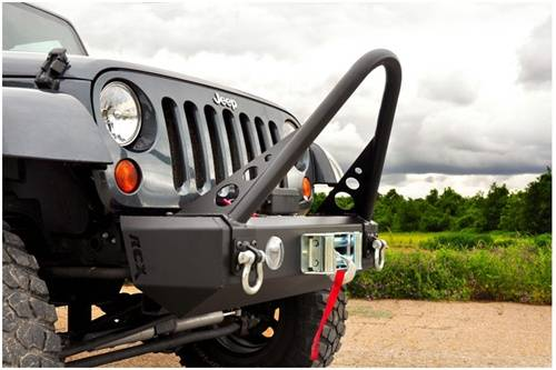 Rough Country Suspension - 1055 | Jeep Stinger Bar (RC Bumpers)