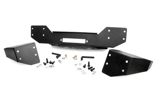 Rough Country Suspension - 1059   Jeep Hybrid Stubby Winch Bumper