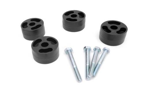 Drivetrain - Transfer Case Parts - Rough Country Suspension - 1072 | Jeep Transfer Case Drop Kit