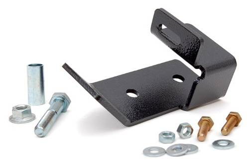 Suspension Components - Track Bars & Brackets - Rough Country Suspension - 1087 | Jeep Rear Track Bar Bracket