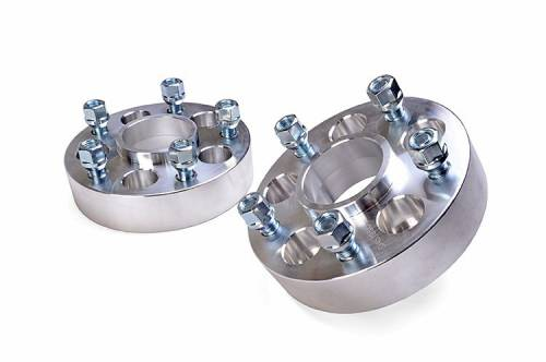 Wheels - Wheel Spacers - Rough Country Suspension - 1092 | Jeep 1.5 Inch Wheel Spacers | 5 X 4.5 to 5 X 5 Bolt Pattern