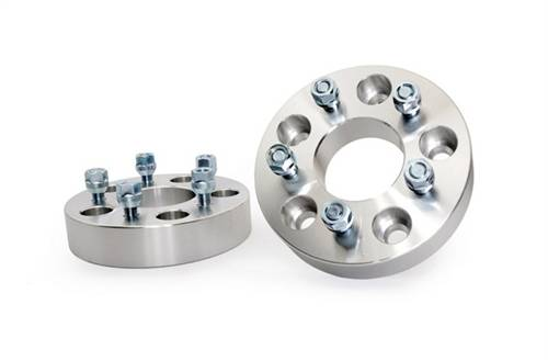 Wheels - Wheel Spacers - Rough Country Suspension - 1100 | Jeep 1.5 Inch Wheel Spacers | 5 x 5 to 5 x 4.5 Bolt Pattern