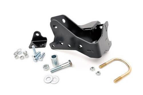Rough Country Suspension - 1118 | Jeep Front Track Bar Bracket