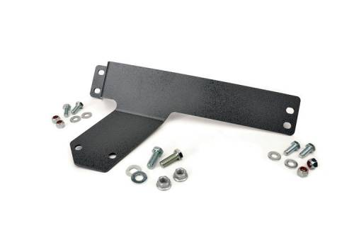 Exterior - Armor & Skid Plates - Rough Country Suspension - 1123 | Jeep Compressor Relocation Bracket