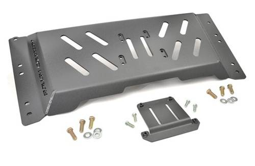 TJ Wrangler - TJ Armor / Skid Plates - Rough Country Suspension - 1126 | Jeep High Clearance Skid Plate